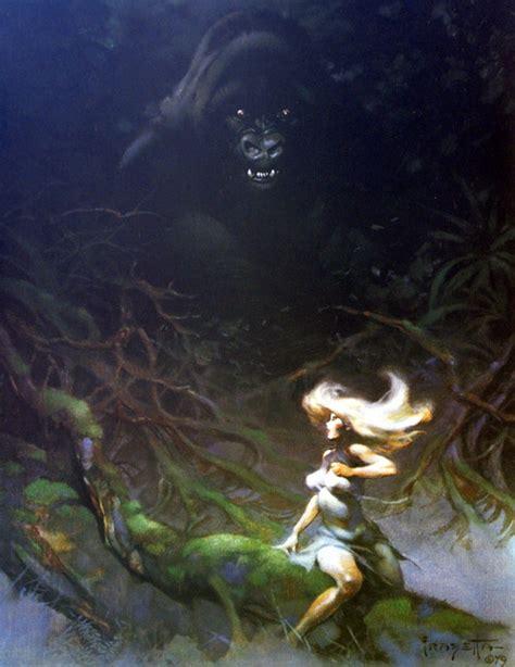 King Kong by FrazettaGorilla | Frank frazetta