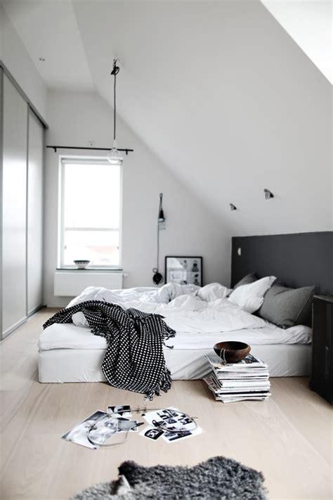 chambre pan du gris dans la chambre cocon de décoration le
