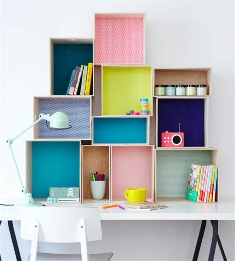 taille d un bureau 1001 idées pour fabriquer une étagère en cagette soi même