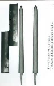 Sutton Hoo Sword Lankton Metal Design