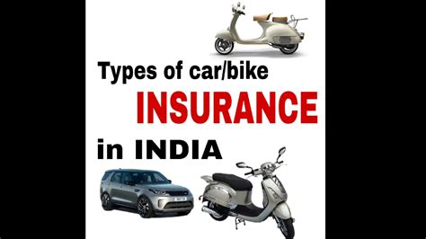 Types Of Car Insurance / Bike Insurance In India