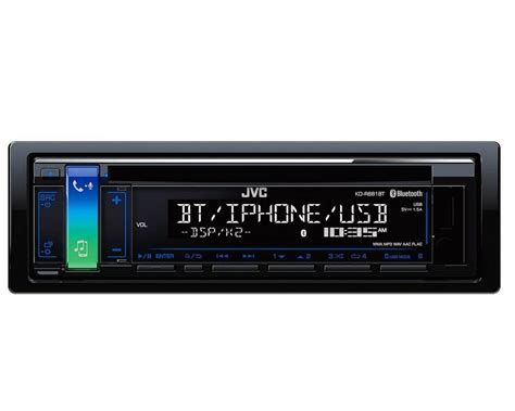 autoradio mit cd jvc 1 din autoradio mit bluetooth cd usb 187 kd r881bt