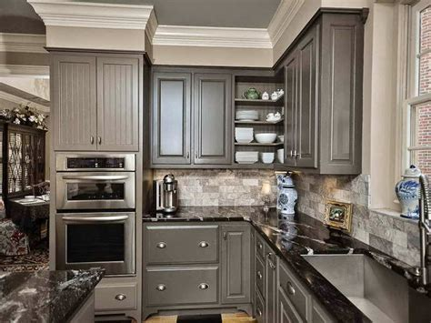 pictures of kitchen cabinets painted gray c b i d home decor and design 10 14