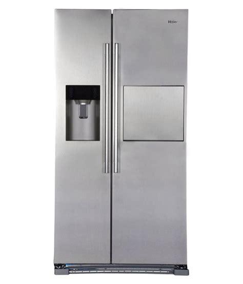 haier 628 ltr hrf 628af6 door refrigerator silver