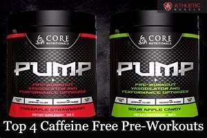 Best Caffeine Free Pre Workout 2019