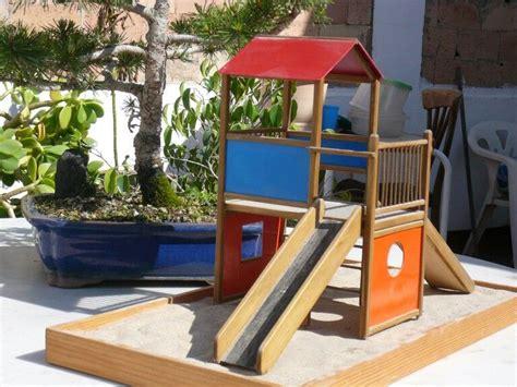 maqueta de parque infantil plaza park