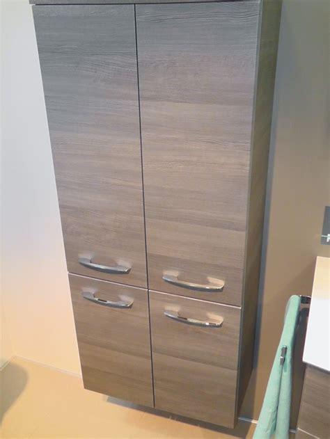 badezimmerschrank 60 cm breit pelipal pcon hochschrank badschrank grau arcom center