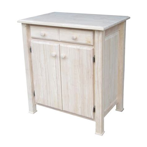 International Concepts Brown Farmhouse Kitchen Island at