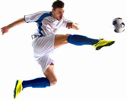 Football Soccer Kick Poses Players Reference Action