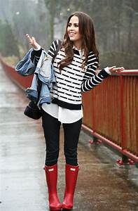 15 Ways To Style Your Rain Boots (Outfit Ideas) 2018   FashionTasty.com