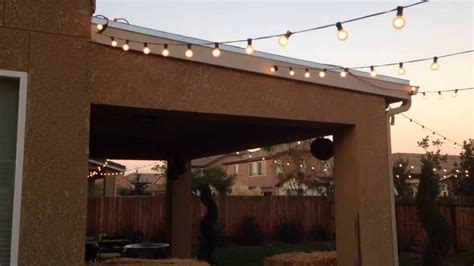 out door lighting patio lighting