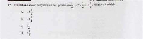 Untuk membantu menemukan jawaban soal matematika yang tepat, berikut ini alternatif jawaban yang sudah jawabanmatematika.com rangkum berdasarkan halaman yang ada pada buku siswa senang belajar matematika kelas 6 sd/mi k13 revisi 2018. Kunci Jawaban Un Matematika Smp 2019 [Nomor 1 - 20 ...