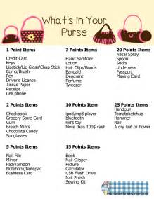 whats   purse  printable baby shower game