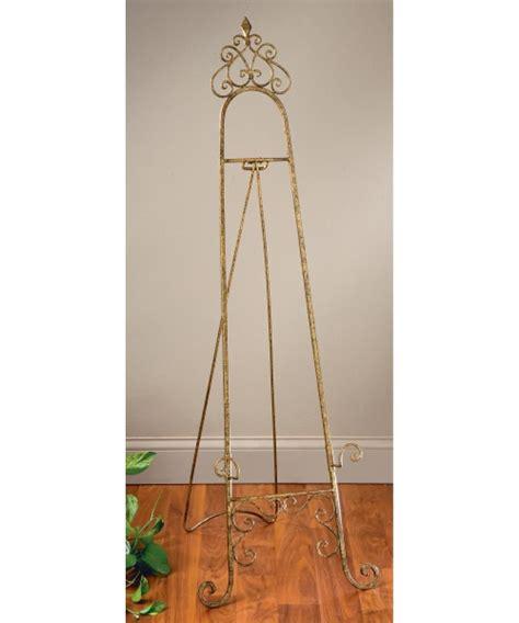 Decorative Floor Easel Stands by Tripar Gold Metal Floor Easel Decorative Easels At Hayneedle