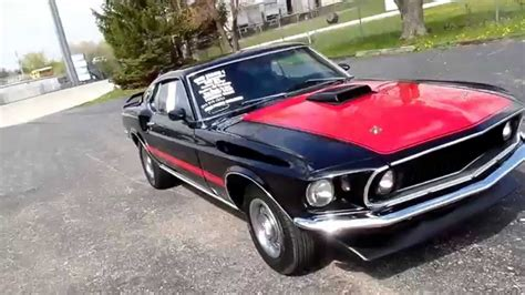 american muscle cars  mustang mach  restored  sale
