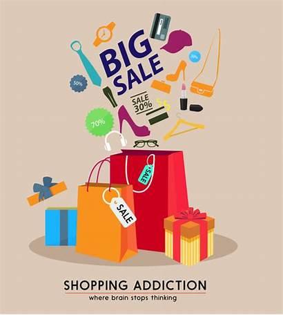 Poster Goods Bags Sales Vector Illustrator 59mb