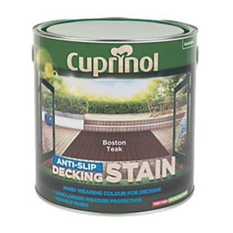cuprinol anti slip decking stain boston teak ltr