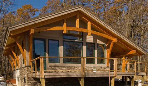 timber frame cabin post and beam interior photos studio design gallery