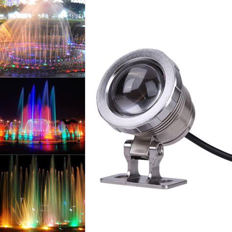 waterproof led lights 10w ac 12v rgb led underwater l ip65 waterproof