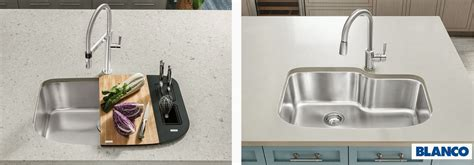how to choose a kitchen sink how to pick a model from blanco kitchen sinks