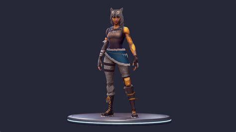 fortnite battle royale news  twitter wolf girl skin
