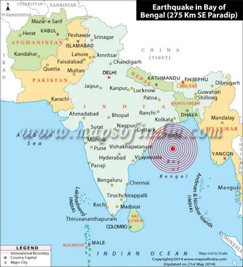 6.0 Magnitude Earthquake Hits Bay of Bengal, Tremors Felt ...