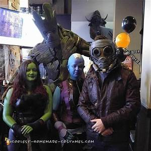 Awesome DIY Groot Costume from Guardians of the Galaxy