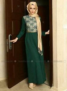 Gold scarf Green dress and Green on Pinterest