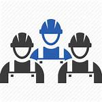 Icon Construction Workers Crew Clipart Icons Worker
