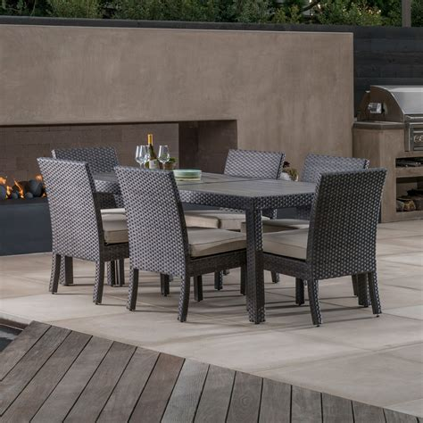 kingston 7pc dining collection mission furniture