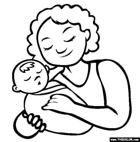 mothers day  coloring pages page