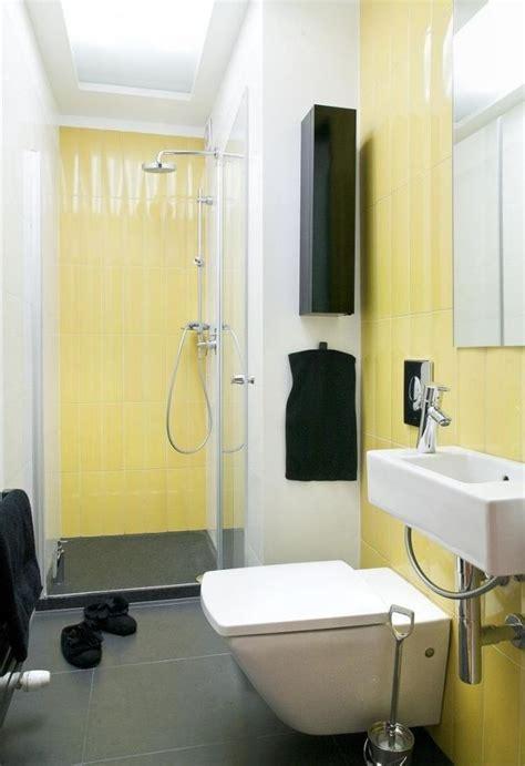 Kleines Bad Farbe by Kleines Badezimmer Gestalten Glasdusche Farben Ideen Gelbe