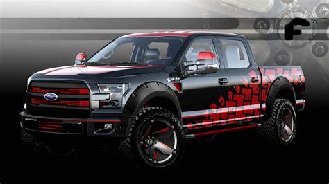 ford sema  custom trucks
