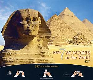 7 Wonders Of The World - Interactive 7 Page executive Wall ...
