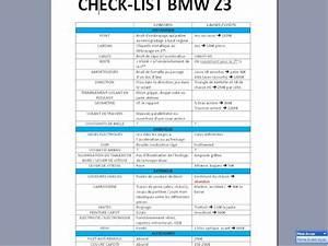 Liste Voiture Sans Fap : bmw z3 club france afficher le sujet check list z3m avant achat ~ Gottalentnigeria.com Avis de Voitures