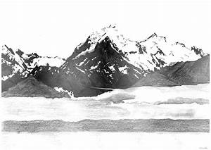Third Drawing – Mountains | BCT13021B – Joshua Pak