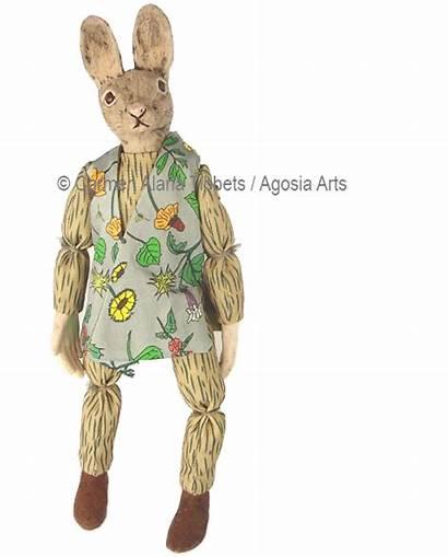 Cottontail Artwork Desert Rabbit
