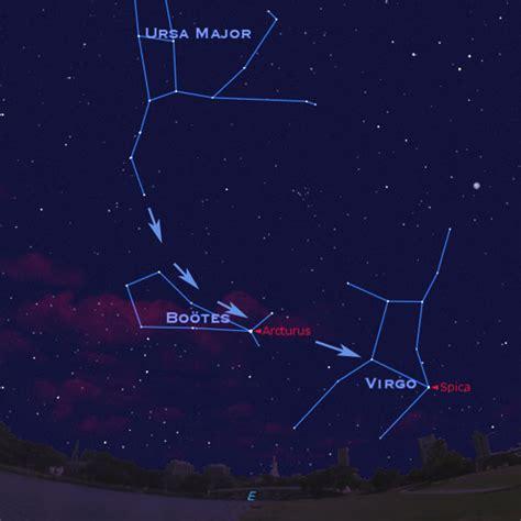 big dipper arc l starry night this week