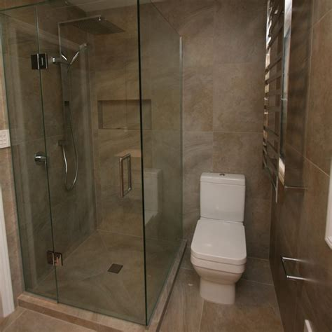 frameless glass shower  sided elite bathroomware