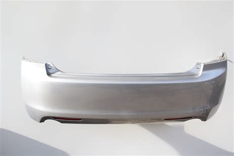 Factory Acura Parts by Acura Tsx Rear Bumper Cover Silver Assembly 04 05 Oem 2004