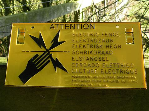 Electric Fence Wiktionary