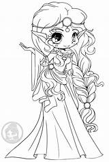 Princess Elf Coloring Scottish Yampuff Childhood Pages Kingdom Shows Adult sketch template