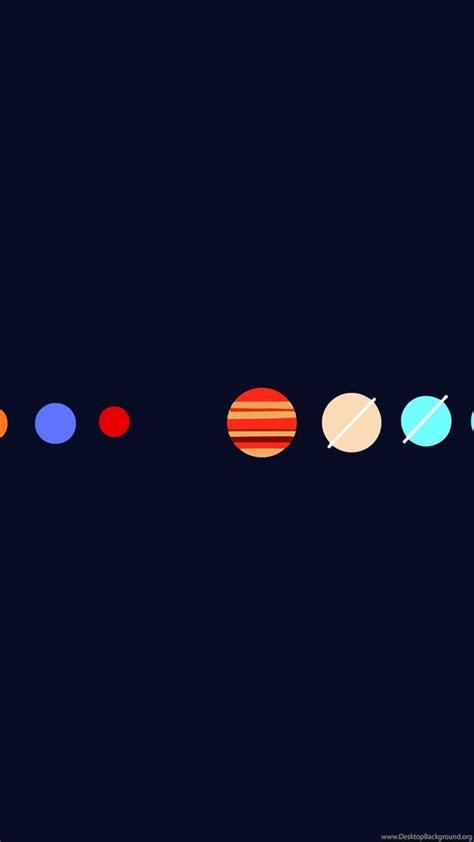 Hd Minimalist Simple Minimal Planets Wallpapers Full Hd