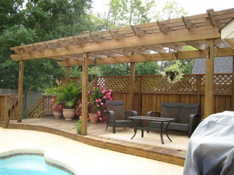 deck shade options deck builder garden structures pergolas arbors