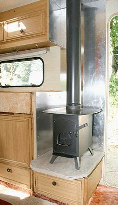 small wood stove  camper   work