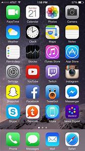 iPhone Home Screen Layout Ideas organizing Your iPhone ...