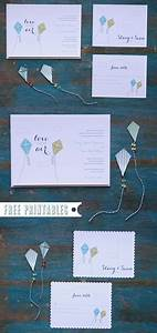 free printable kite invitations With free printable wedding invitations wedding chicks