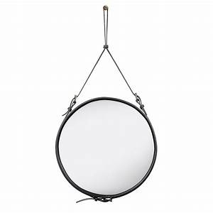 Spiegel Rund 70 Cm : adnet spiegel rund 58 cm in schwarz von gubi online kaufen hublery ~ Bigdaddyawards.com Haus und Dekorationen