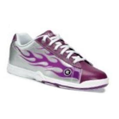 etonic basic womens purple flame bowling shoe flaming