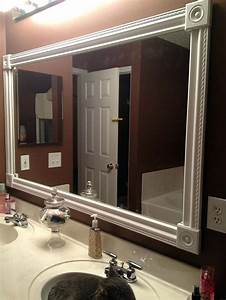 Painted Mirror Frame Ideas Vanity Mirror Frame Ideas